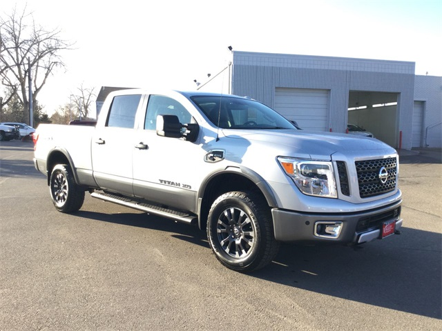 Pre Owned 2017 Nissan Titan Xd Pro 4x 4d Crew Cab In Longmont