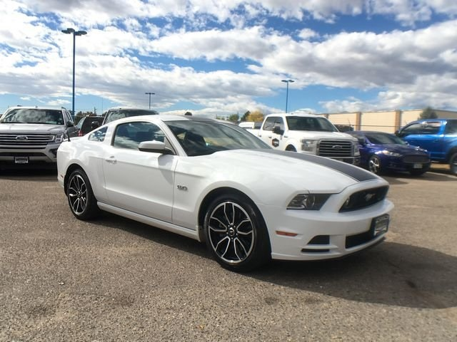 Pre Owned 2014 Ford Mustang Gt Premium 2d Coupe In Longmont 322805b