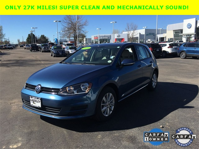 Pre-Owned 2016 Volkswagen Golf TSI SE 4-Door