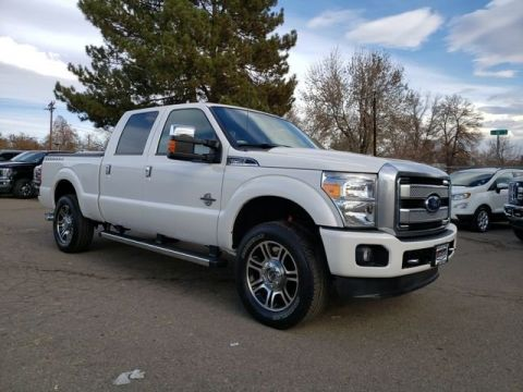 Pre-Owned 2016 Ford F-250SD Platinum